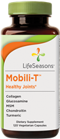 Mobili-T Joint Pain Health Supplement: Bottle / Vegetarian Capsules: 120 Capsules