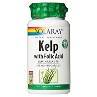 Kelp with Folic Acid: Bottle: Vegetarian Capsules / 100 Capsules