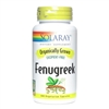 Organic Fenugreek: Bottle: Vegetarian Capsules / 100 Capsules