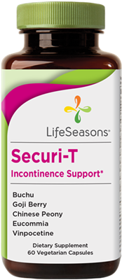 "Securi-Tâ""¢ Urinary Incontinence Support: Bottle / Vegetarian Capsules: 60 Capsules"