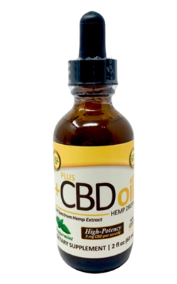 CV Sciences CBD Oil Drops, Peppermint : 1,500mg