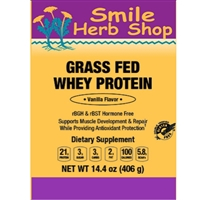 Grass-Fed Whey Protein : Chocolate, 14 Ounces