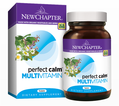 "Perfect Calmâ""¢ Multivitamin: Bottle / Vegetarian Tablets: 144 Tablets"