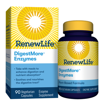 DigestMore Enzymes: Bottle / 90 Tablets