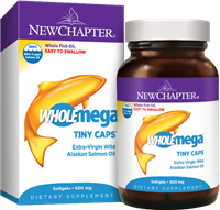 Wholemega Tiny Caps / 90 Softgel Capsules
