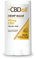 "+PlusCBDâ""¢ Oil Balm - Travel Size Gold Formula : 45mg"