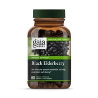 Black Elderberry Vegan Capsules, 120 count