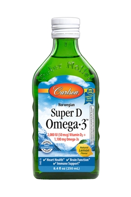 "Super D Omega-3â""¢: Bottle: Liquid / 8.4 Fluid Ounces"