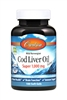 Cod Liver Oil, Super 1,000 mg: Bottle: Softgels / 100 Softgels