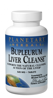 Bupleurum Liver Cleanse: Bottle / Tablets: 72 Tablets