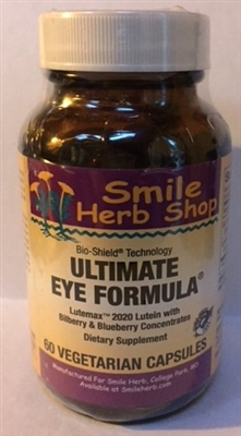 Ultimate Eye Formula: Bottle / Capsules: 60 Vegetarian Capsules