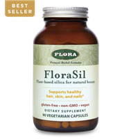 FloraSil Vegetable Silica: Bottle: Vegetarian Capsules / 90 Capsules