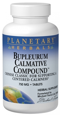 Bupleurum Calmative Compound: Bottle / Tablets: 60 Tablets