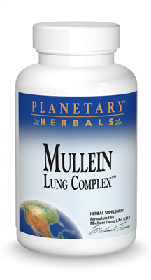 Mullein Lung Complex: Bottle / Capsules: 90 Tablets
