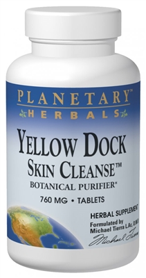 "Yellow Dock Skin Cleanseâ""¢: Bottle / Tablets: 60 Tablets"