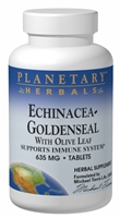 Echinacea-Goldenseal with Olive Leaf: Bottle / Tablets: 60 Tablets
