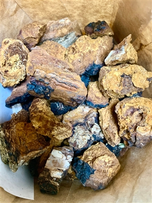 Chaga Chunks, Small/Medium, Wildcrafted