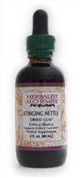 Stinging Nettle Leaf: Dropper Bottle / Organic Alcohol Extract: 1 Fluid Ounce
