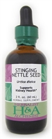 Stinging Nettle Seed : Dropper Bottle / Organic Alcohol Extract: 2 Fluid Ounce