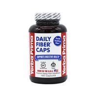 Daily Fiber Caps: Bottle / Capsules: 180 Capsules