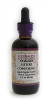 Bitters Compound: Dropper Bottle / Organic Alcohol Extract: 1 Fluid Ounce