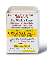 Dead Sea Salt Soap Bar: Soap Bar: 3.5 Ounce