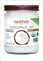 Organic Virgin Coconut Oil: Bottle / Organic Coconut Oil: 15 Fluid Ounces