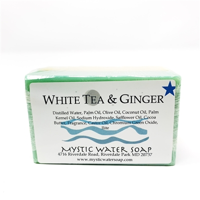 White Tea Ginger Soap