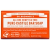 Dr. Bronner's Pure-Castile Bar Soap : Tea Tree