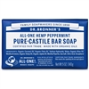 Dr. Bronner's Pure-Castile Bar Soap : Peppermint