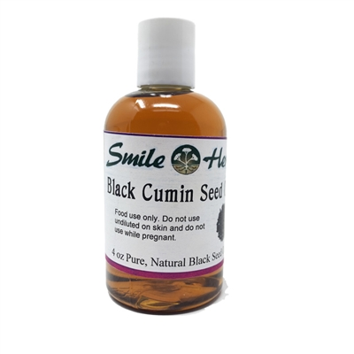 Black Cumin Oil (Virgin, Organic): Bottle: 4 Fluid Ounces