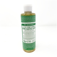 Dr. Bronner's Pure-Castile Liquid Soap : Almond, 8oz