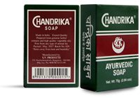 Chandrika Ayurvedic Soap Bar: 3Oz