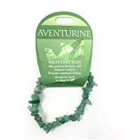 Aventurine Chip Bracelet : Motivation