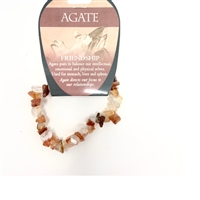 Agate Chip Bracelet : Friendship