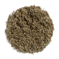 Sage, Rubbed: Bulk / Organic Rubbed Sage Leaf, Cut & Sifted