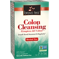 Colon Cleansing: Boxed Tea / Individual Tea Bags: 20 Bags