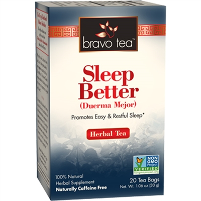 Sleep Better: Boxed Tea / Individual Tea Bags: 20 Bags