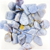 Chalcedony, Blue Storm, tumbled