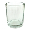 Clear Glass Votive-Candle Holder