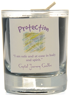 Herbal Magic Filled Votive Holders - Protection
