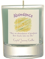 Herbal Magic Filled Votive Holders - Abundance