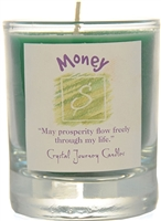 Herbal Magic Filled Votive Holders - Money