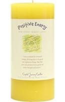 Herbal Magic 3x6 Pillars - Positive Energy