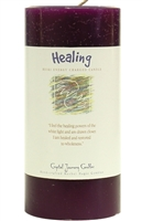 Herbal Magic 3x6 Pillars - Healing