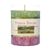 Pillar Candle // Vegetable-Based Wax : Stress Relief