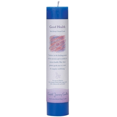 Herbal Magic Pillar Candle - Good Health