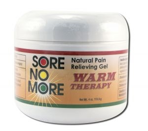 Sore no More Warm Therapy Gel: 4oz