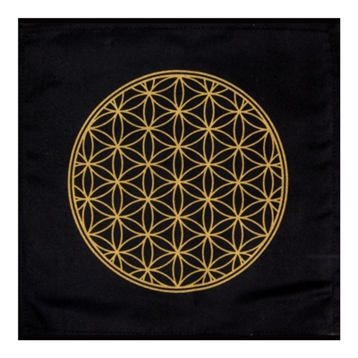 Cotton Crystal Grid : Flower of Life