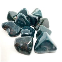 Bloodstone, tumbled